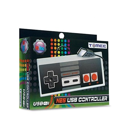 Tomee Nintendo NES Classic USB Controller for Mac and (Best Usb Nes Controller)