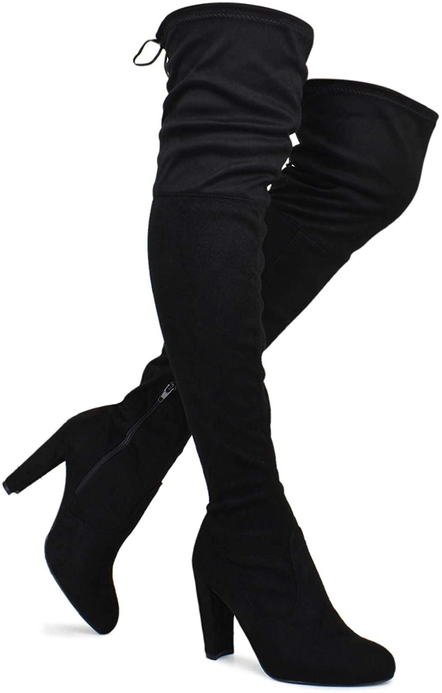 block heel dress boots