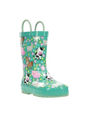 Infant Girls' Western Chief Farm Cutie Rain Boot - Toddler