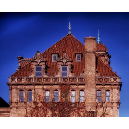 Canvas Print Richmond Virginia Old Main Train Station City Stretched Canvas 10 x 14
