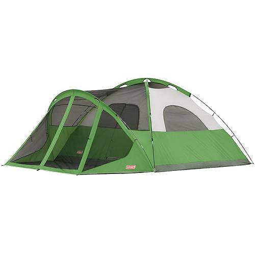 Coleman Evanston 8 Person Screened Dome Tent Ebay