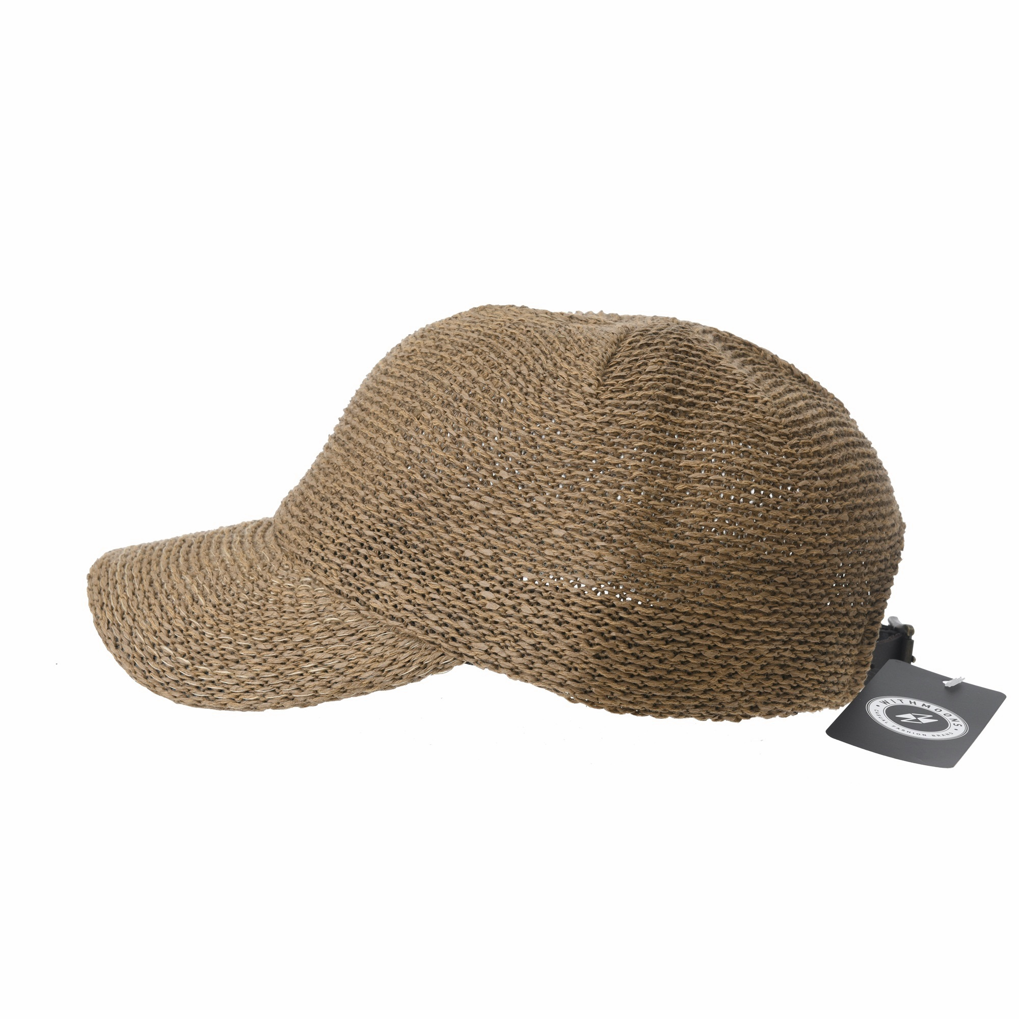 WITHMOONS Baseball Cap Summer Cool Paperstraw Cotton Mesh Ballcap For Men  Women KR1960 (Beige) - Walmart.com 7a33a2ca0016
