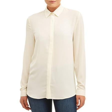 L.N.V. Women's Button Up (Hugger Button)