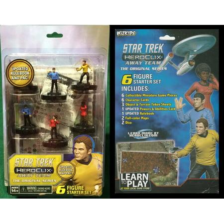 Star Trek Away Team Heroclix Starter Set (6