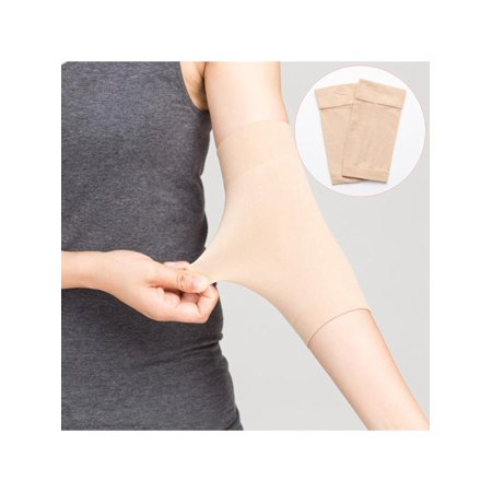 1 Pair Arm Shaper, Tattoo Cover Up Forearm Compression Sleeves Band Concealer