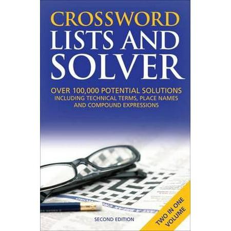 Crossword Lists & Crossword Solver - Halloween Crossword Solver