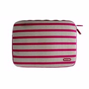 "Incase Stripe Sleeve Case for 13"" Devices - Off-White and Pink (Refurbished)"
