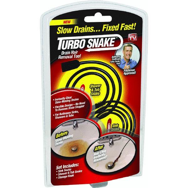 As Seen on TV Turbo Snake Drain Hair Remover