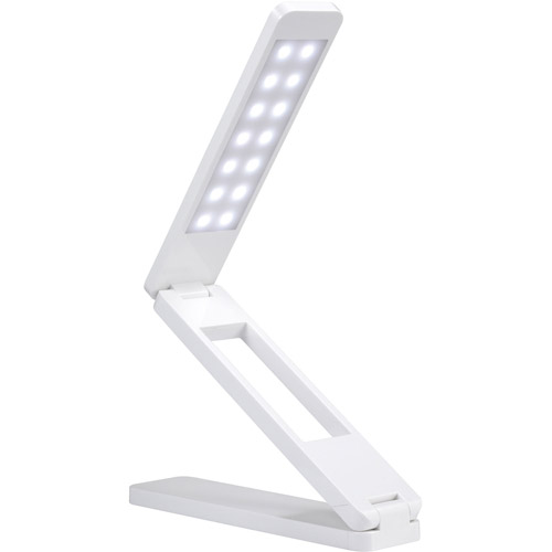 Rix Foldable LED Book Light, White by Rix
