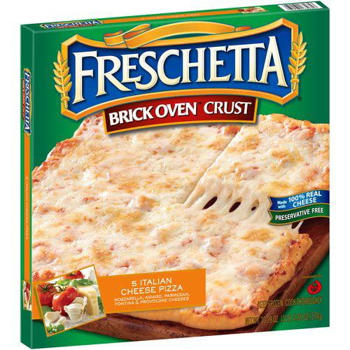 Freschetta Brick Oven Crust 5 Italian Cheese Pizza, 20.28 oz