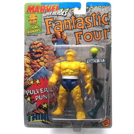 Marvel Super Heroes Fantastic Four the Thing Action Figure Pulverizing Punch](Hero Punch)