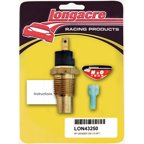"Longacre 230 Degrees 1/2"" NPT Male Electric Temperature Sender P/N 43250"