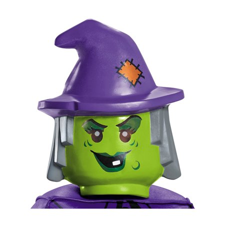 Child's Girls LEGO® Iconic Characters Witch Mask Costume Accessory - Halloween Witch Masks To Print