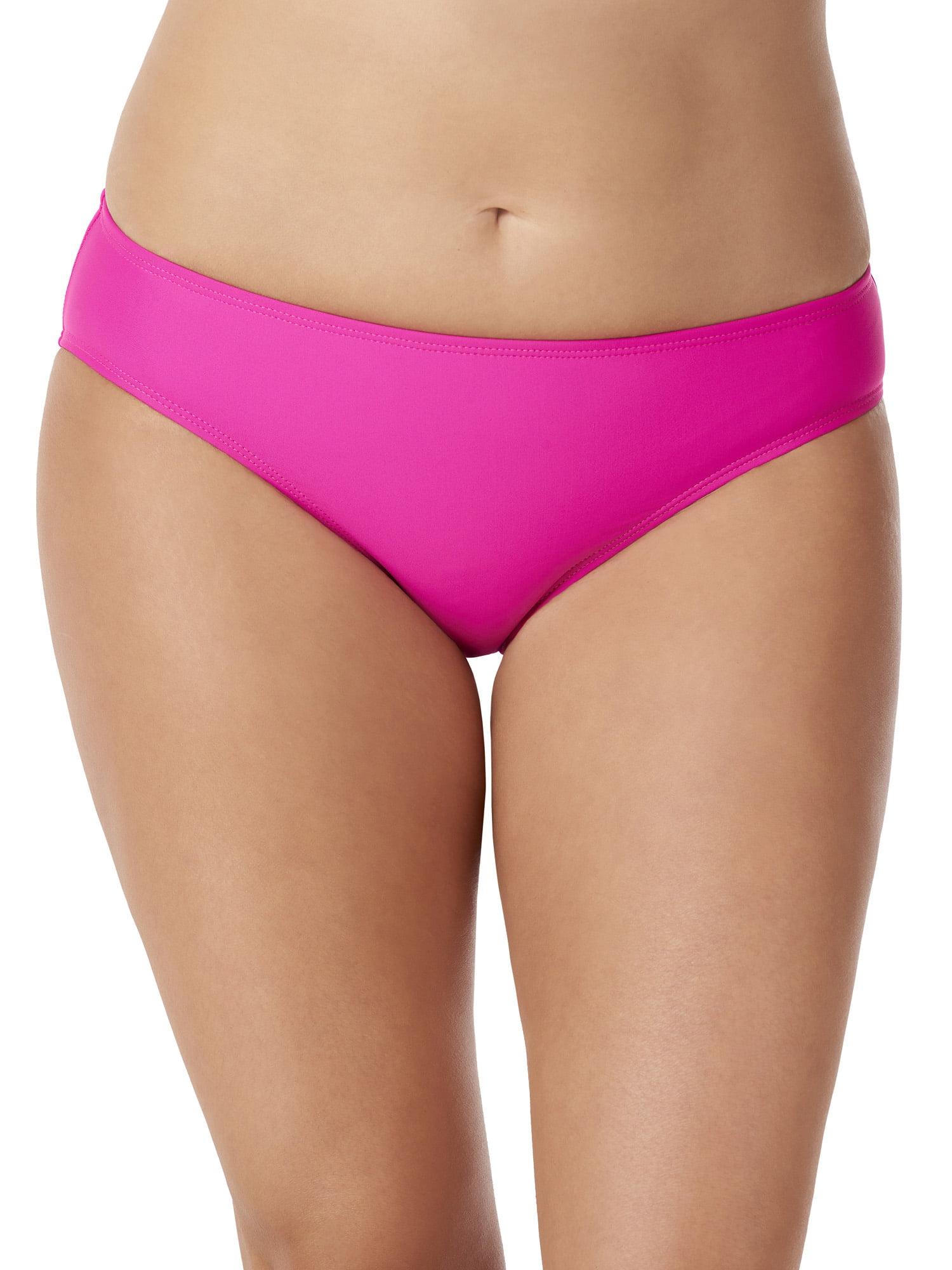 Women's Sassy Bikini Bottom with Ruched Back