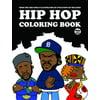 Hip hop coloring book paperback