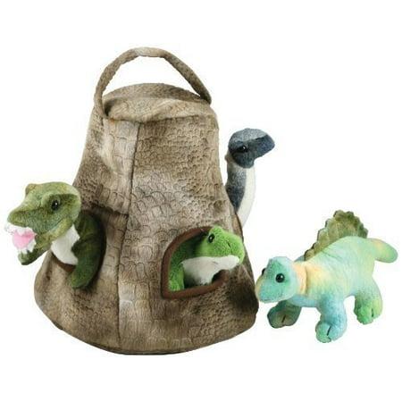 Cuddle Zoo, Dinosaur House with 4 Baby Dinos