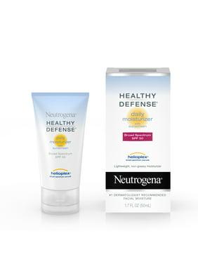Neutrogena Healthy Defense Daily Face Moisturizer with SPF 50, 1.7 fl. oz