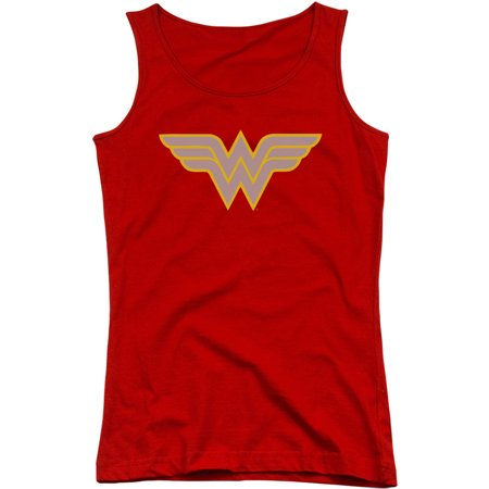 Dc Comics Womens  Ww Logo Womens Tank Red