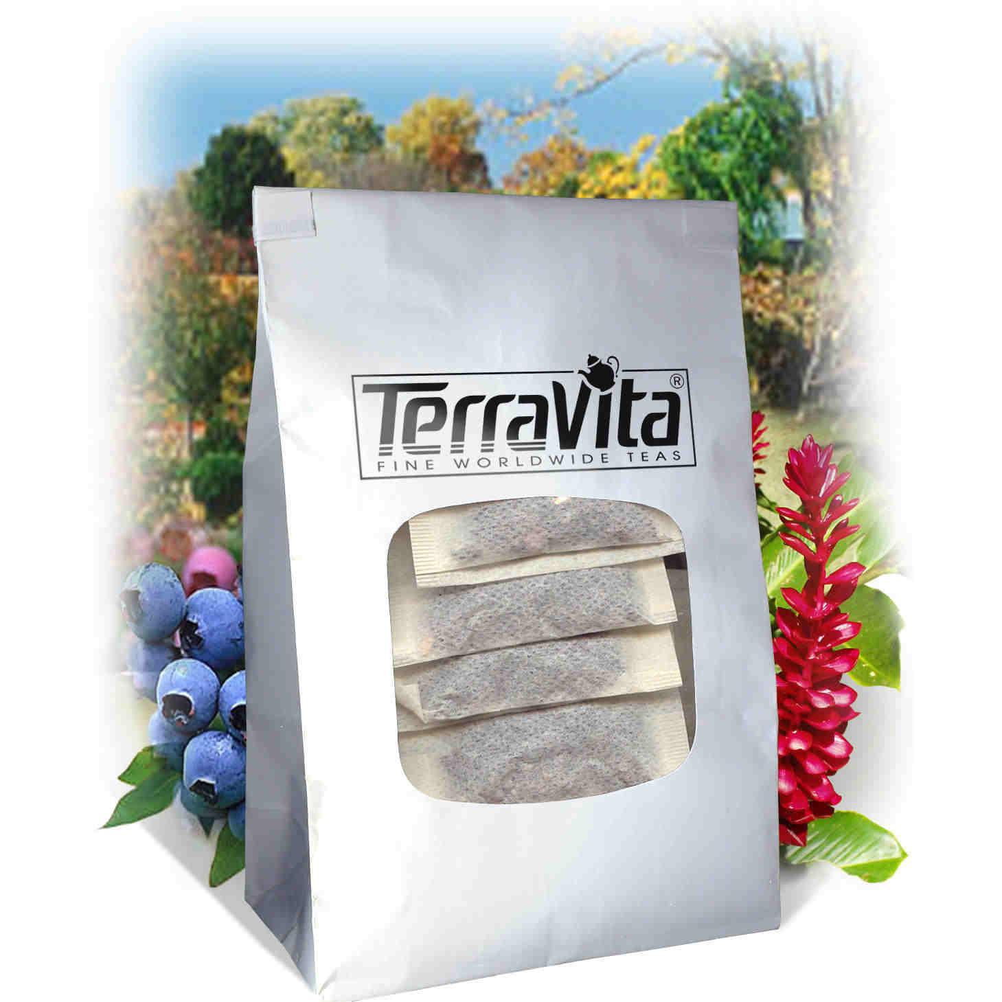 American Saffron and Slippery Elm Bark Combination Tea (25 tea bags, ZIN: 513641) by TerraVita