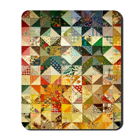 Func Mouse Pad (CafePress - Fun Patchwork Quilt - Non-slip Rubber Mousepad, Gaming Mouse Pad )