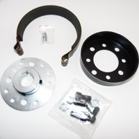 "Go Kart Brake Band Kit Includes Hub, Drum, and Brake Band W Pin For 1"" Axle"