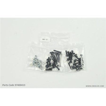 Cross RC CZR97400415 Screw Z Bag for SG4 Rock Crawlers - image 1 of 1