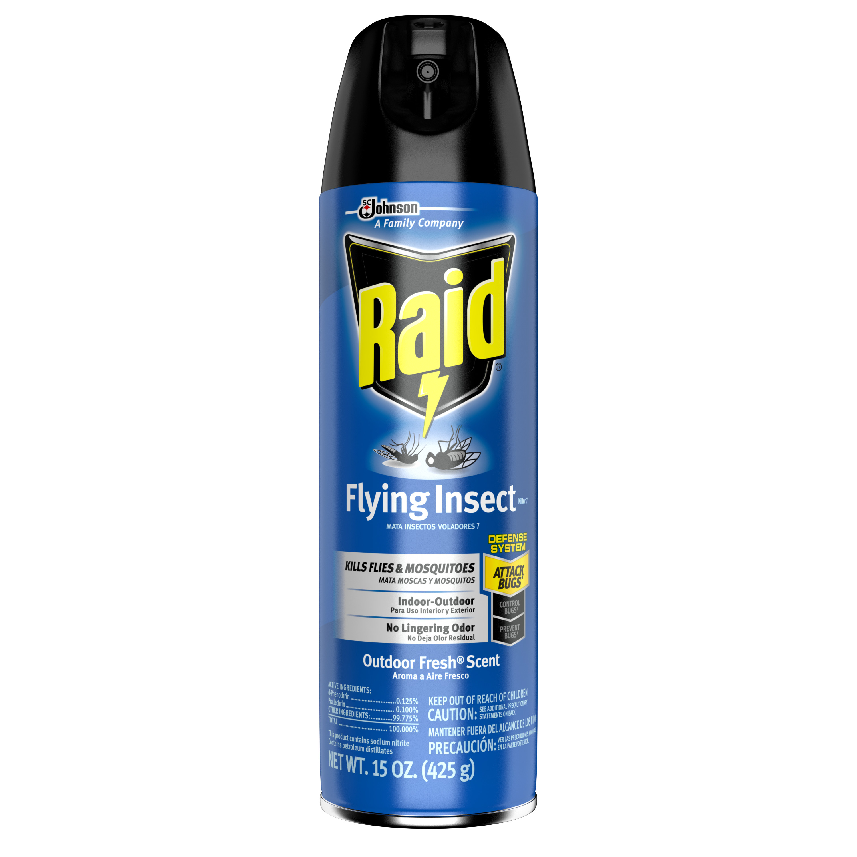Raid Flying Insect Killer 15 Ounces