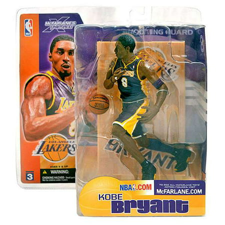 McFarlane NBA Sports Picks Series 3 Kobe Bryant Action Figure [Purple Jersey] Kobe Bryant Nba