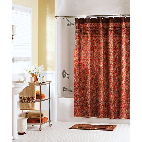 Lovely Better Homes And Gardens Medina Paisley Shower Curtain