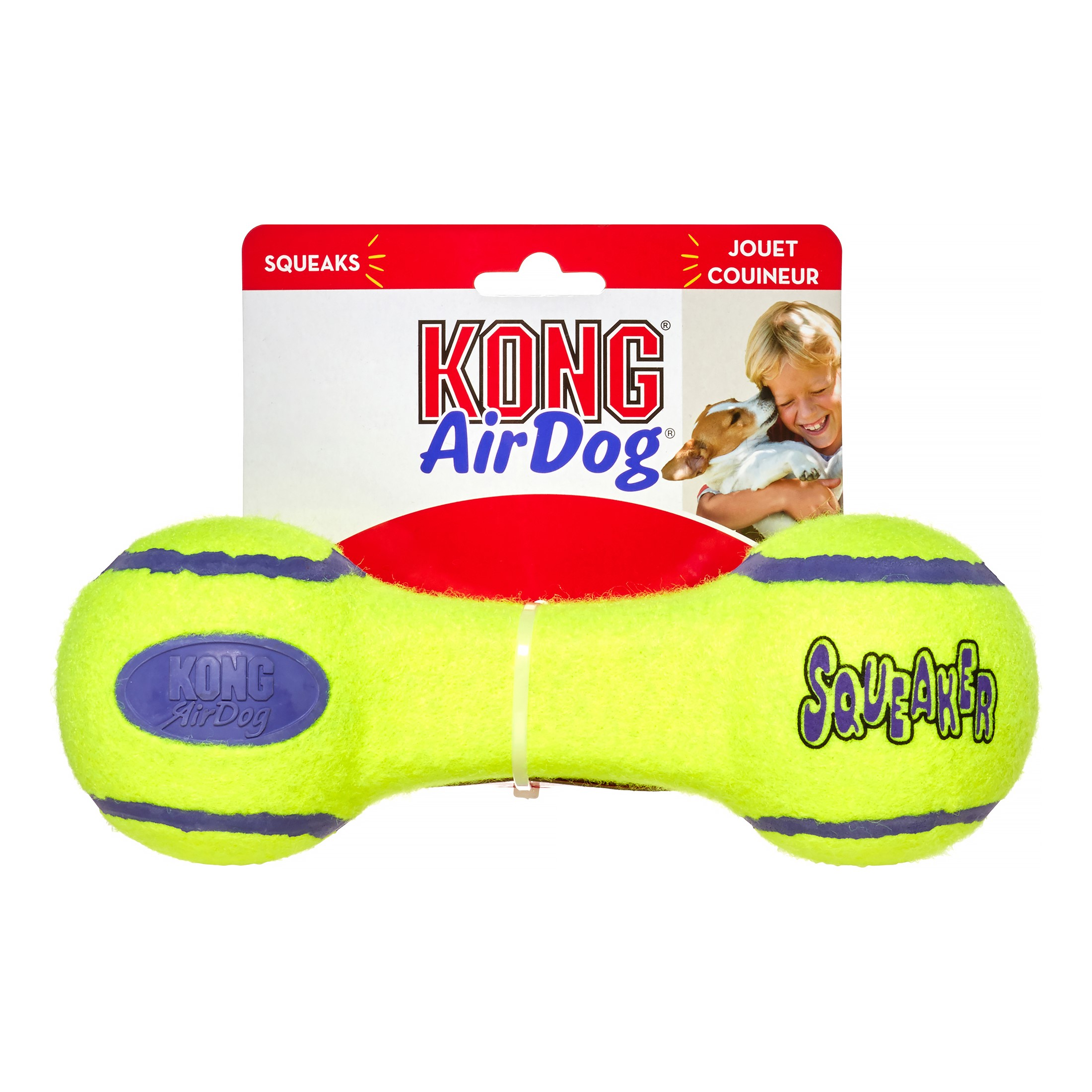KONG Air Dog Dumbbell Dog Toy, Large