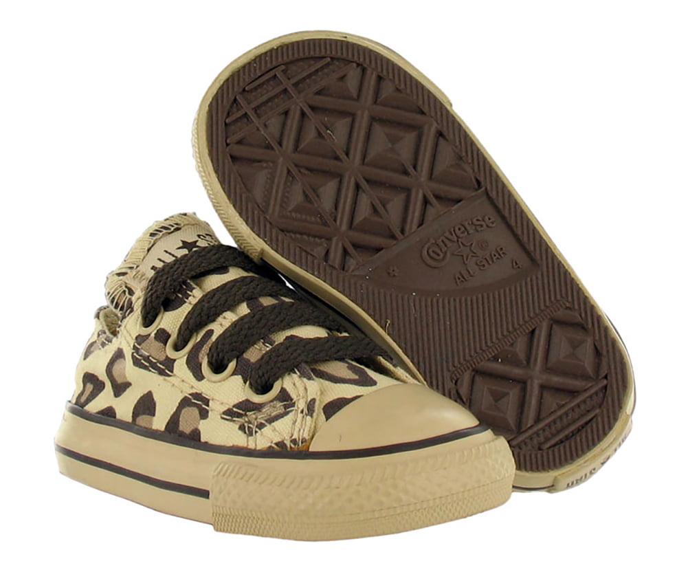 Converse - Chuck Taylor Animal Print Leopard Infant Shoe ...