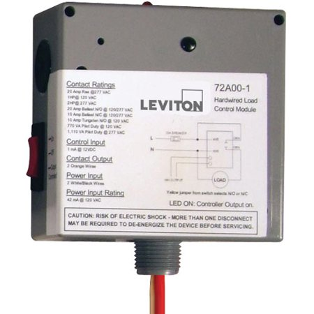 HAI/Leviton Wired-In Load Control Module (72A00-1)
