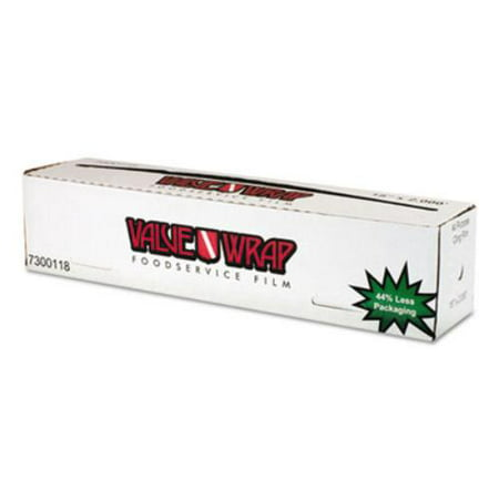 Anchor Packaging 7300118 Valuewrap Foodservice Film, 18