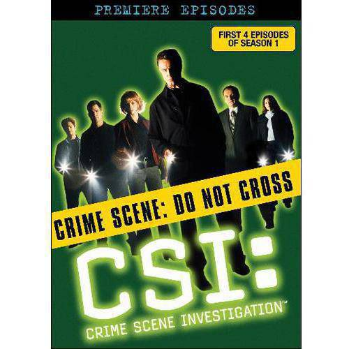 C.S.I.: Crime Scene Investigation - The Premiere Episodes (1-4) (Full Frame)