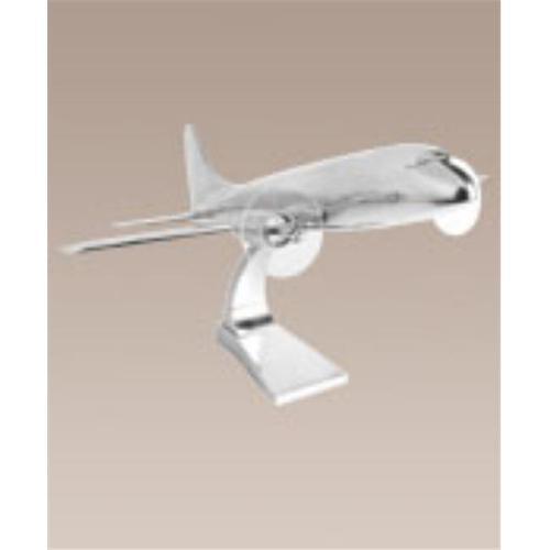 1930s DC-3 Hand Cast Aluminum Airplane Model