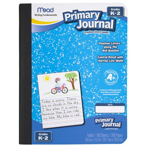 Mead Early Learning Primary Journal