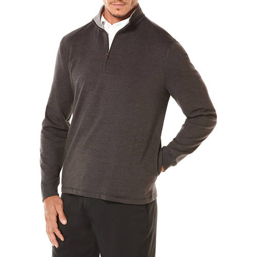 Ben hogan men s golf performance baby french terry long sleeve mock