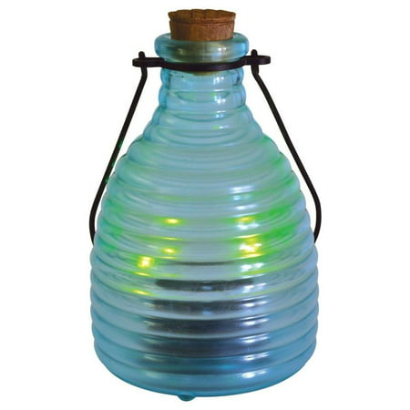 Malibu Solar LED Firefly Glass Lantern Jar Landscape Lighting