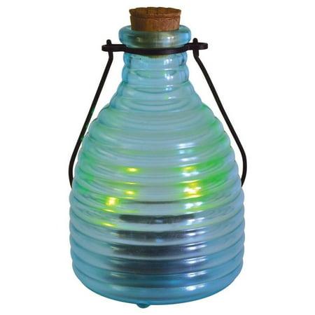 Malibu Solar LED Firefly Glass Lantern Jar Landscape Lighting (Glass Jar Lights Halloween)