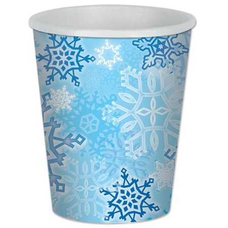 Snowflake Beverage Cups Halloween Decoration (Halloween Party Cups)