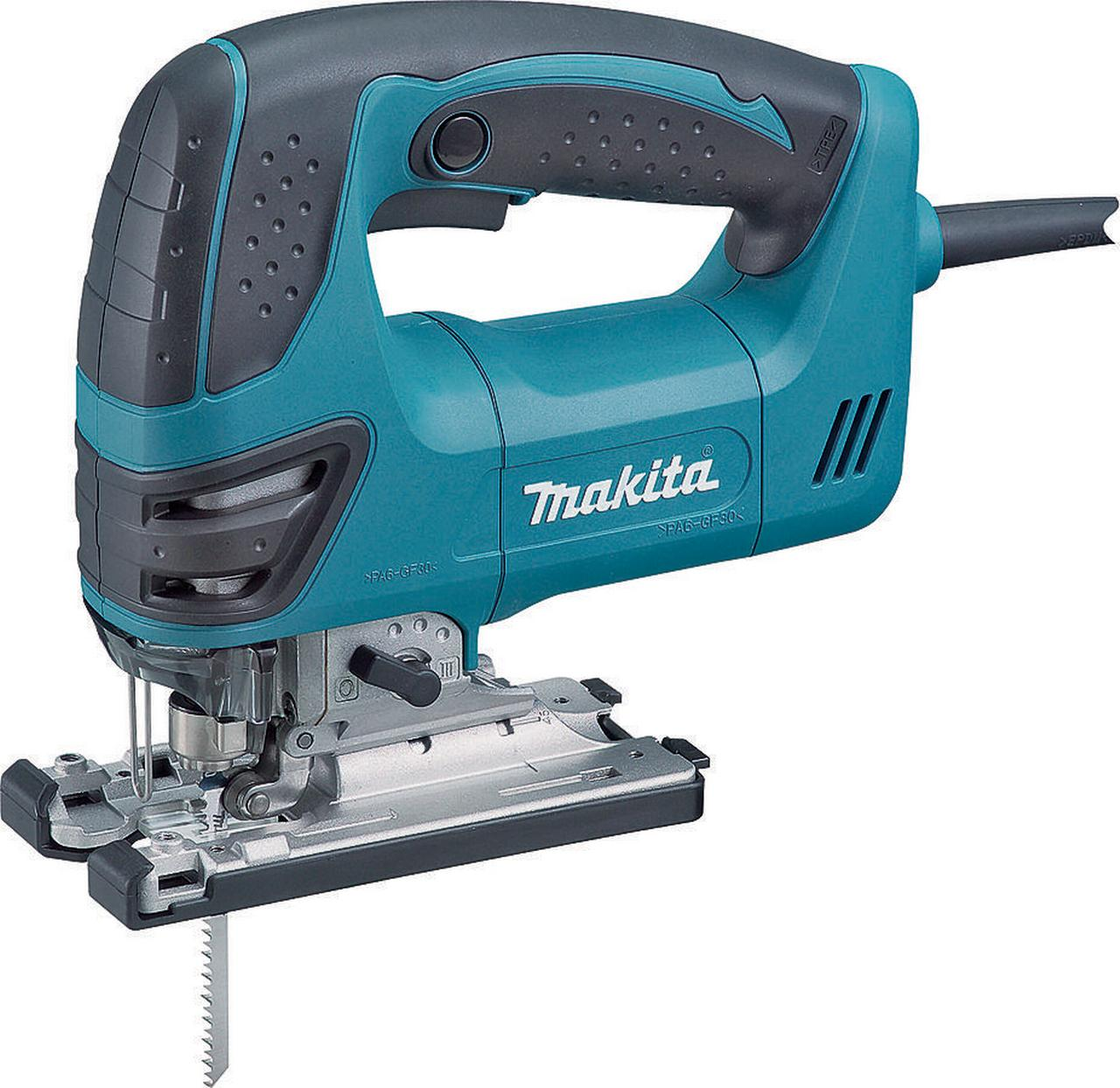 Makita 4350FCT Orbital Action Corded Jig Saw with LED Light, 120 V, 6.3 A, 1 in Stroke