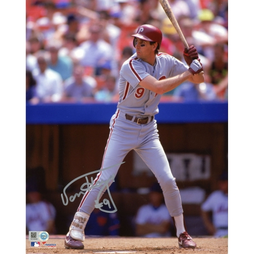 "Von Hayes Philadelphia Phillies Fanatics Authentic Autographed 8"" x 10"" Batting Stance Photograph - No Size"