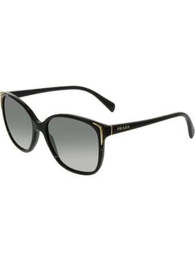 82c8248eb7 Product Image Prada Women s Gradient PR01OS-1AB3M1-55 Black Cat Eye  Sunglasses