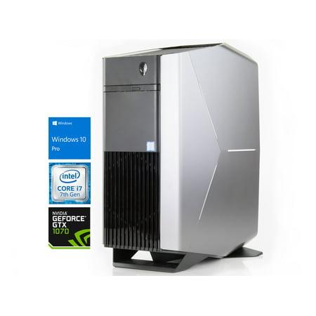 Alienware Aurora R6 Gaming Desktop, Intel Quad-Core i7-7700 Upto 4 2GHz,  8GB RAM, 1TB SSD, NVIDIA GeForce GTX 1070 8GB, DVD-RW, HDMI, DisplayPort,
