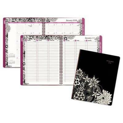 At-A-Glance Floradoodle Professional Week/Month Planner, 2019 (Week And Month Planner)