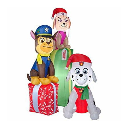 nickelodeon gemmy paw patrol 88 inflatable indooroutdoor airblown christmas holiday decoration - Paw Patrol Christmas Decorations