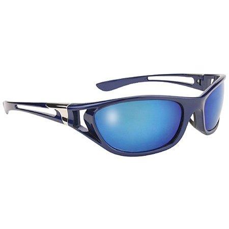 Men's Blue Ice Sunglasses with Blue Mirror Lens 400 UV