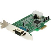 StarTech 1-Port Low Profile Native RS232 PCI Express Serial Card with 16550 UART