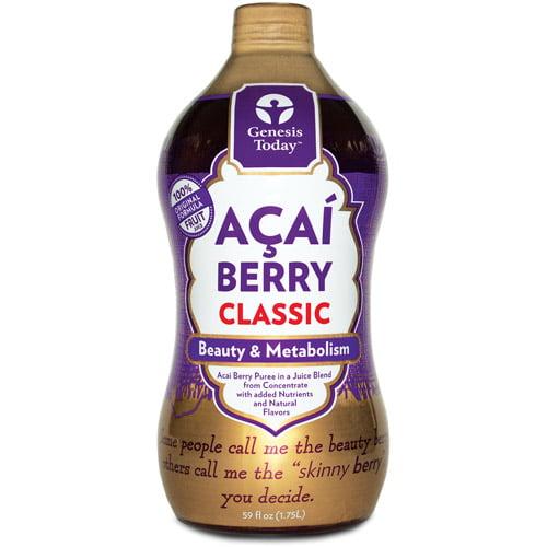 Genesis Today Acai Berry Fruit Juice, 64 fl oz