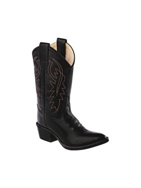 Children's Old West Narrow J Toe Boot - Child